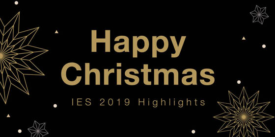 Happy Christmas - IES 2019 Highlights