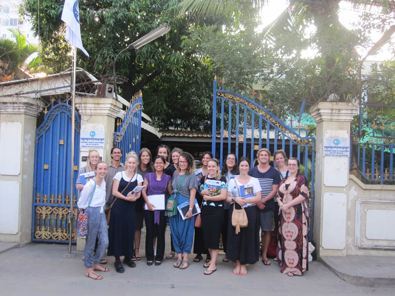 Fremantle Law School's Inaugural International Immersion – Phnom