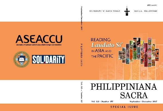 Philippiniana Sacra, Special Issue: 'Reading 'Laudato Si' in Asia and the Pacific' (September-December), vol. LII, no.157.